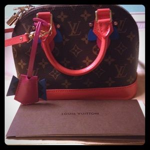 Authentic Louis Vuitton Limited Edition Alma BB