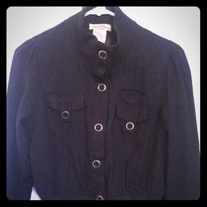 Paris Blues Jackets & Blazers - •Black button up jacket•