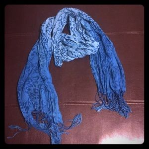 Accessories - Bad Ass Blue Scarf