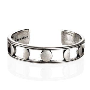 Jenny Bird Jewelry - Jenny Bird Silver Moonsong Cuff / Free Shipping.