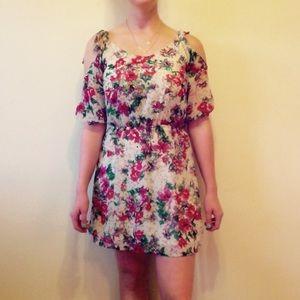 Wet Seal Floral Dress