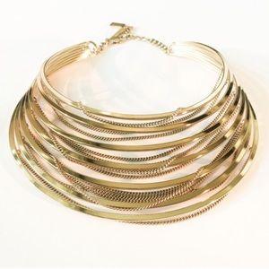Jenny Bird Jewelry - Jenny Bird Gold Illa Collar / Free Shipping.