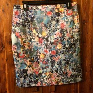 Unique Floral Skirt