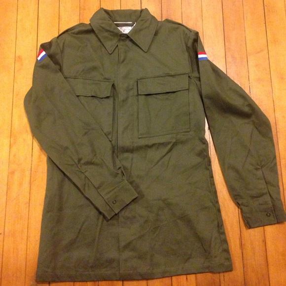 c663585a2f83 Vintage Jackets & Coats | Cyber Monday Sale Dutch Army Field Jacket ...