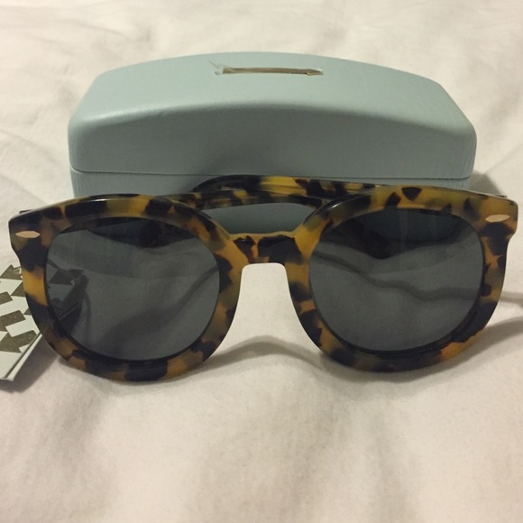 f6f3a7a610cf Karen Walker Accessories | Nwt Kw Super Duper Strength Sunglasses ...