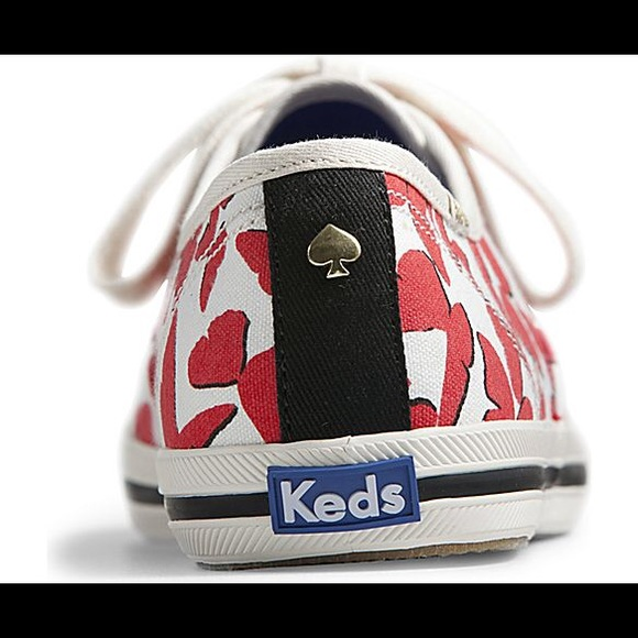 kate spade Shoes - Keds x Kate Spade Red and White Butterfly Sneakers