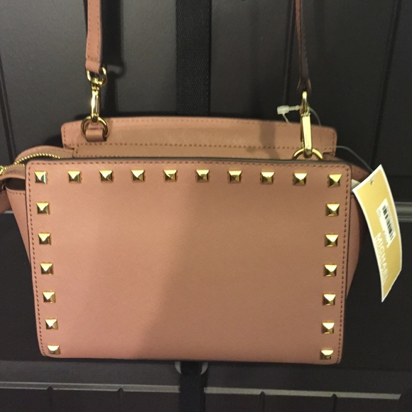 cc7f89436067 discount code for michael kors bags sold brand new nude mk cross body bag  43548 44be4