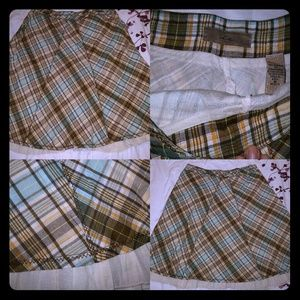 Plaid vintage inspired skirt
