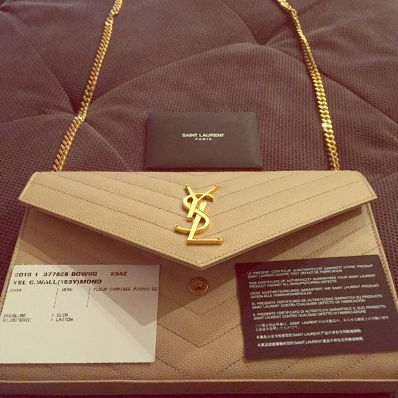 9a04155814 Yves Saint Laurent Bags | Ysl 2015 Limited Edition Clutchpurse ...