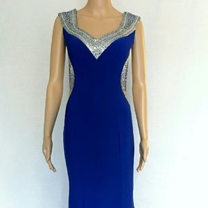 Gowns Dresses & Skirts - NEED 2 SELL!!Royal blue evening gown.1 Available!