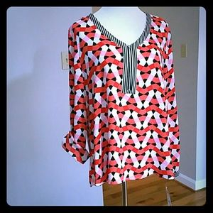 Ny Collection Tops Blouses Poshmark
