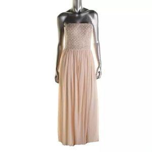 Aidan Mattox Dresses & Skirts - NWT🔹AIDAN MATTOX Pink Chiffon Dress Gown