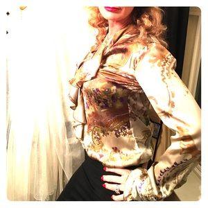 Silk blouse Benetton