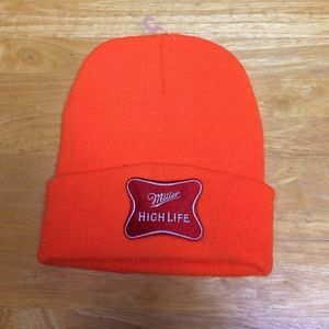 CSP Accessories - Miller High Life Neon Orange Winter Hat d1785e2ddcb