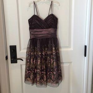 Brown dress