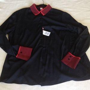 Basler Tops - Basler tunic blouse.  NWT. Size 44