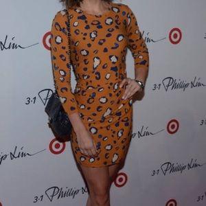 Philip lim /target cheetah stretch jersey dress