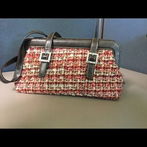Amanda Smith Handbags - Pink Tweed Purse