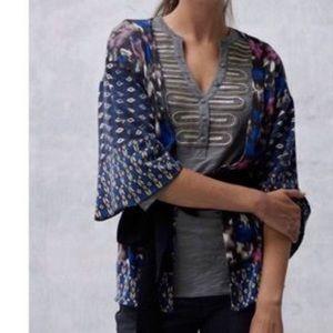 Anthropologie kimono wrap sweater