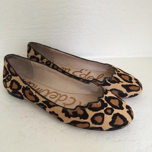 441f928219a2 Sam Edelman Alaine Flats leopard size 8 w. M 56536079c6c795a3b00023e3