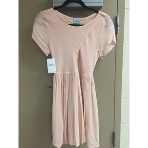 DressUp Boutique: Blush-colored Babydoll Dress