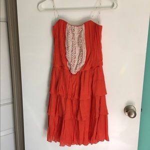 Ruffles and Lace Dress