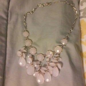 Jewelry - Gorgeous Blush Statement Necklace
