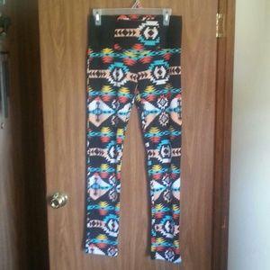 Pants - *FINAL OFFER* Cotton Aztec Leggings