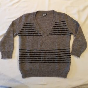 JCrew wool tippi sweater with sequins
