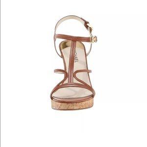 9c9180173130 Michael Kors Shoes - Michael Kors brown wedges Size 9