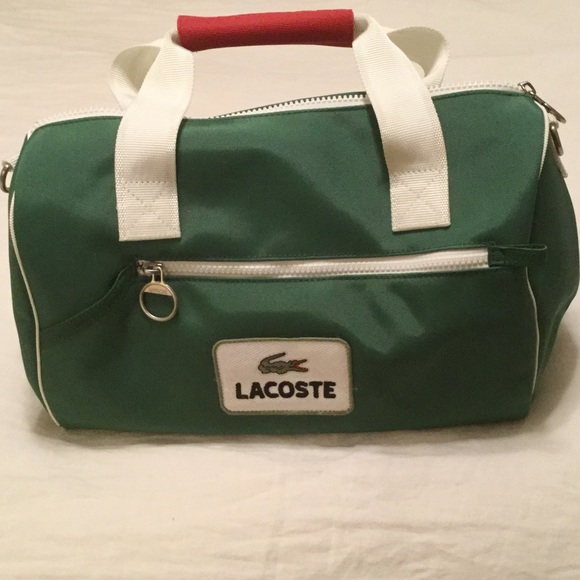 d19ed79b077b Lacoste Handbags - Small Lacoste gym bag