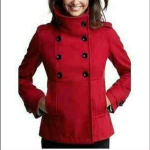 Red Gap Peacoat