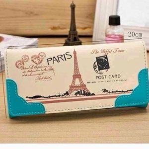 Handbags - HP🎊Eiffel Tower wallet