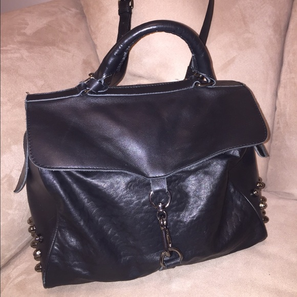 e5eac05495 TopShop studded 100% genuine leather satchel. M 5653a363a88e7d6ddc004986.  Other Bags ...
