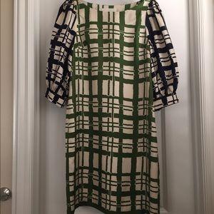 Maeve silky sheath dress