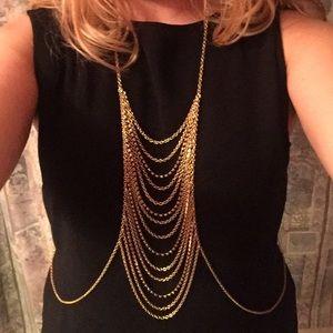 Jewelry - Gold Body Chain