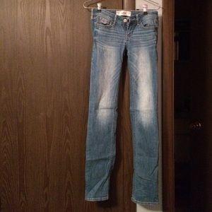 78% off Hollister Denim - Hollister super skinny jeans size 00 ...