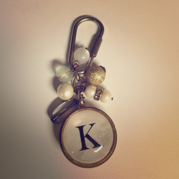 Anthropologie Accessories - K initial keychain 58e942236