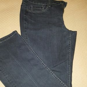 *Sale*Stone Washed Black  Boot Cut Jeans