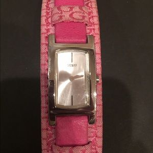 Guess Hot Pink Watch