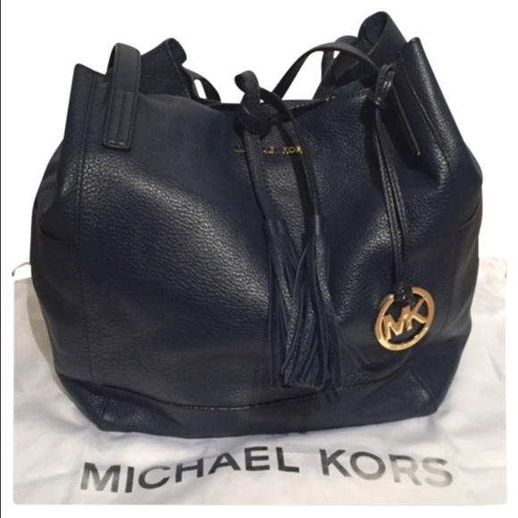 67% off Michael Kors Handbags - Michael Kors Ashbury Leather ...