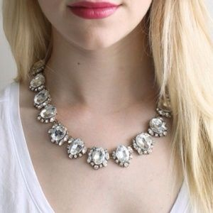 NWT Crystal Collar Statement Necklace