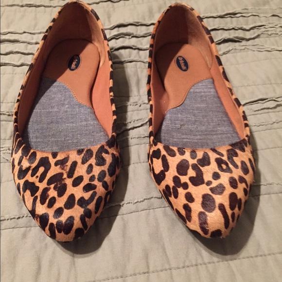 Dr Scholls Leopard Print Ballet Flat