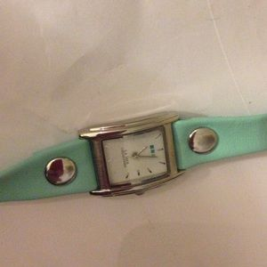 La Mer Accessories - La mer collections turquoise watch- new battery