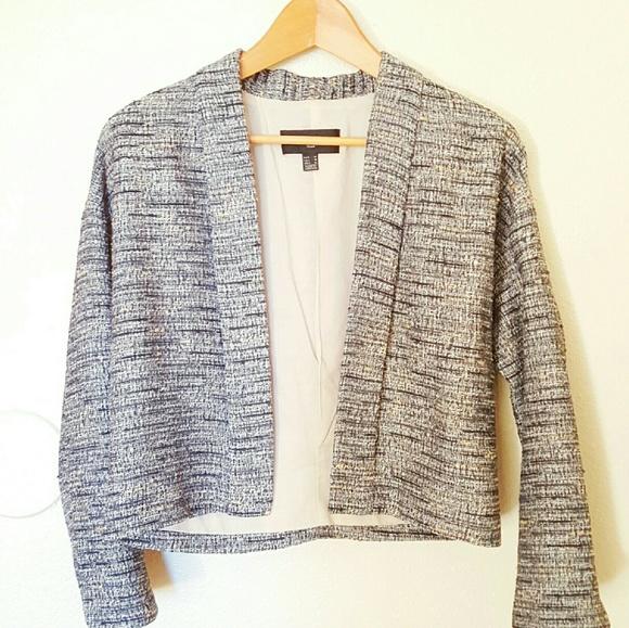 Mango Jackets   Coats   Salehp Light Tweed Jacket   Poshmark f1f52d7c5f0b