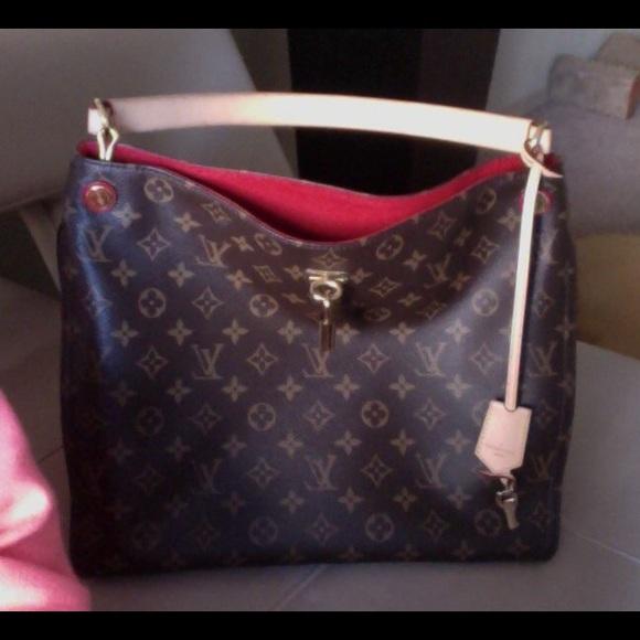 9ef495c91926d Louis Vuitton Handbags - Like new Louis Vuitton Gaia bag. Only worn twice!