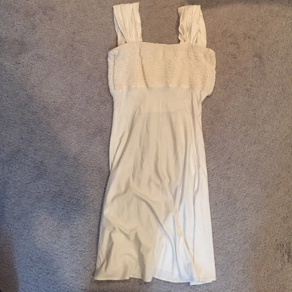 Sky brand white dress