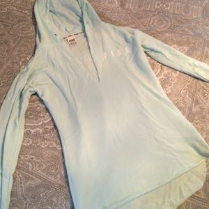 PINK Victoria's Secret Sweaters - Vs pink light teal tunic