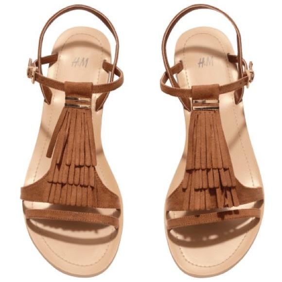 f4d87e302 H M Shoes - Fringe Sandals