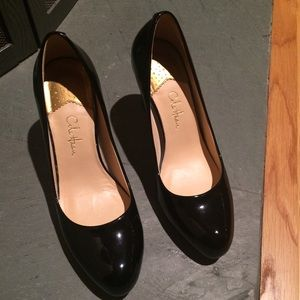 bd4b25eabc7ccd Cole Haan Shoes - Cole Haan Ambrose Black Patent AirNike Heels